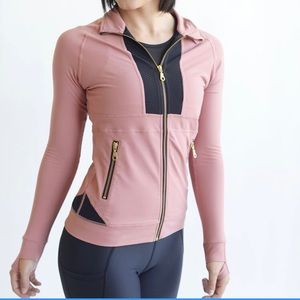 Zyia Active Pink Awareness All Around Jacket